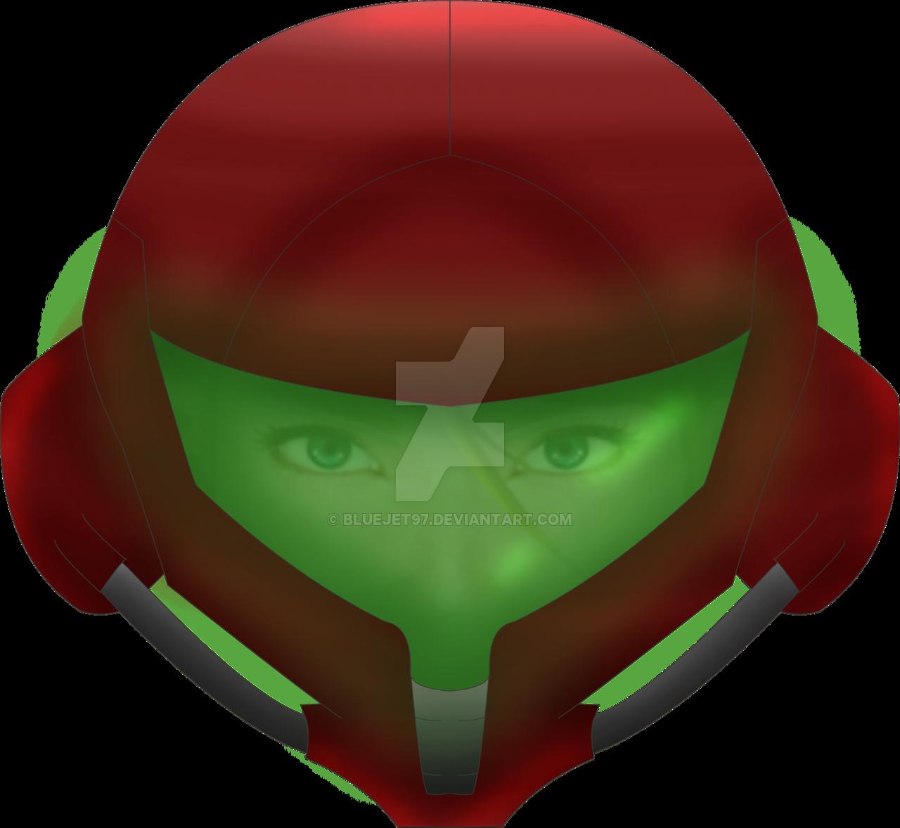 Metroid prime aran gamecube. Samus helmet png