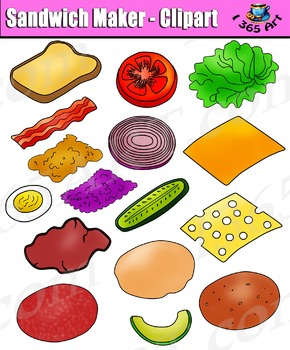 Build a bread and. Sandwich clipart