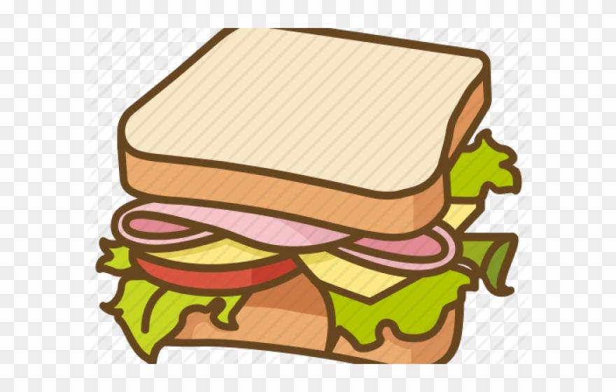 Bread clipart sandwhich. Sandwich blt png download