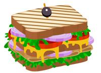 Sandwich clipart. Free clip art pictures