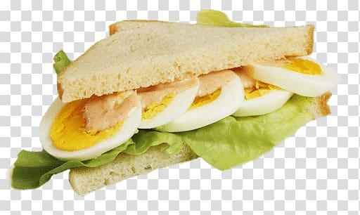 Transparent background png . Sandwich clipart egg sandwich