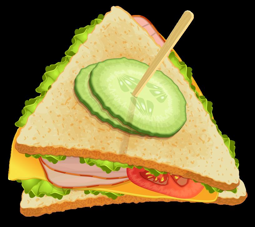 Triangle png jokingart com. Sandwich clipart printable