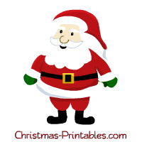 Free for craft projects. Santa clipart