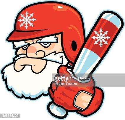 Santa clipart baseball. Image clip arts