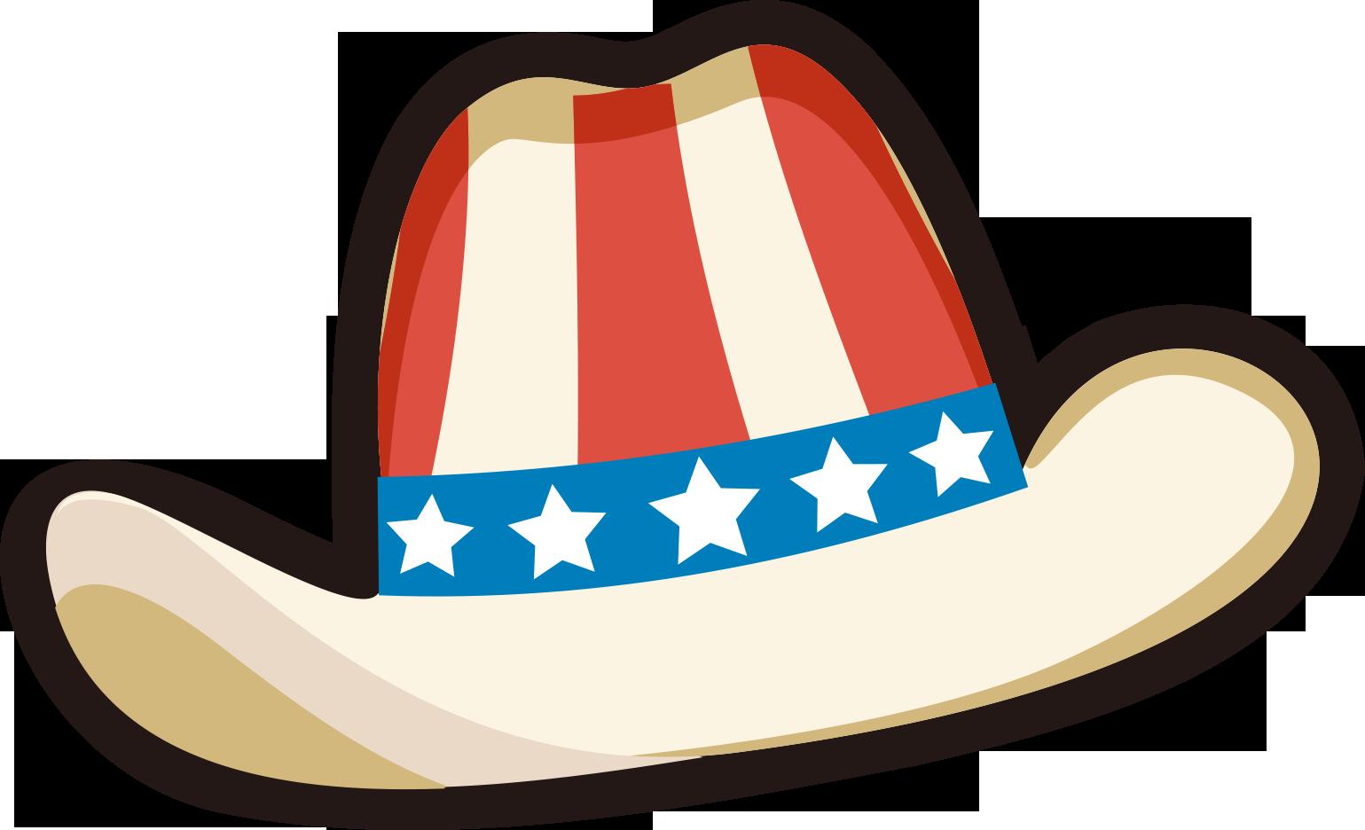 United states clipart cartoon. Cowboy hat clip art