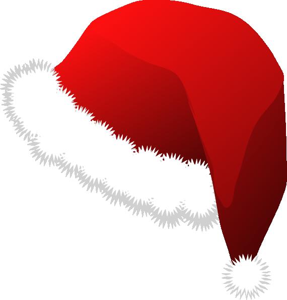 green image royalty. Santa hat vector png