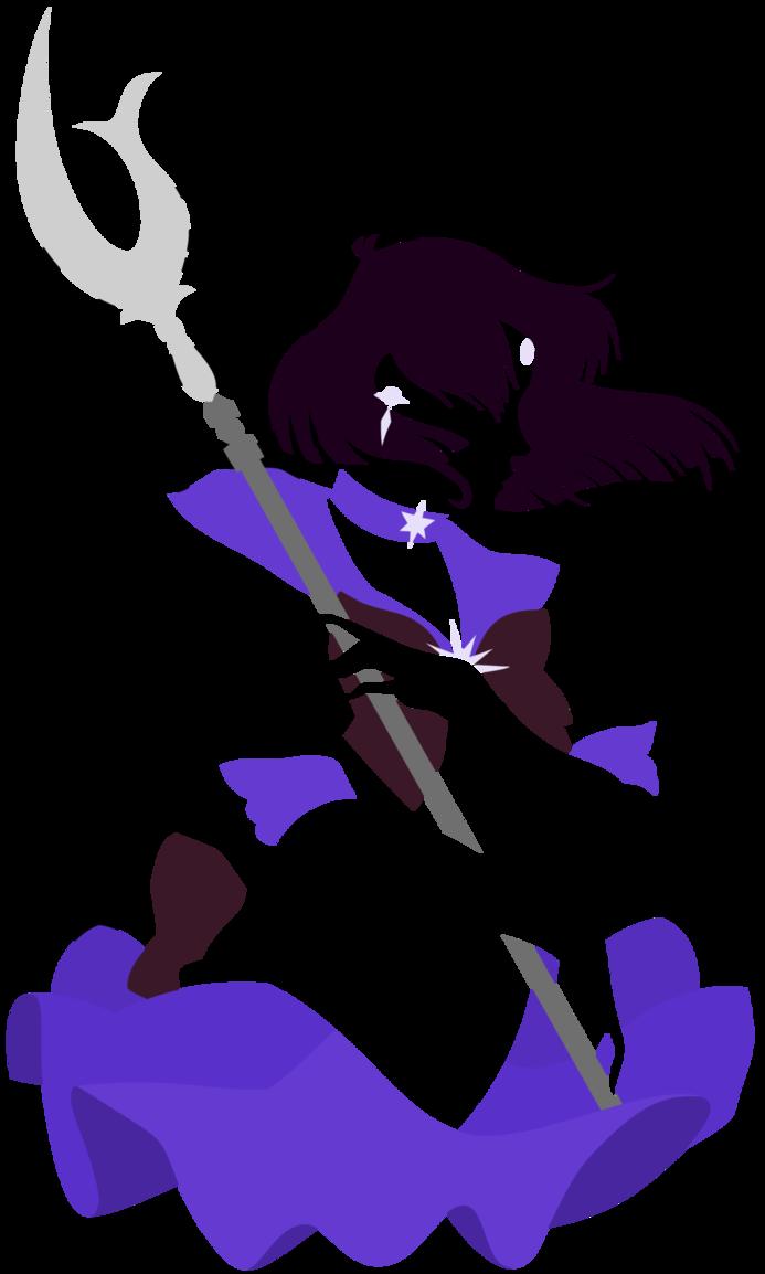 saturn clipart purple