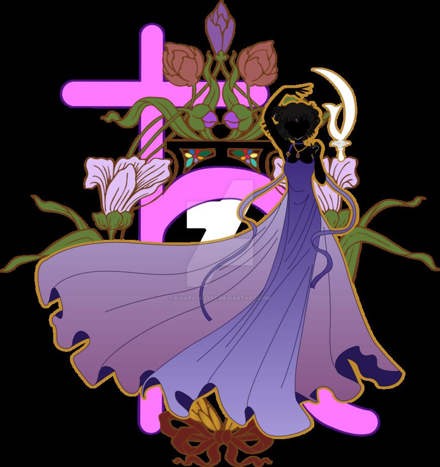 Saturn clipart purple. Princess by kisaragi zeet