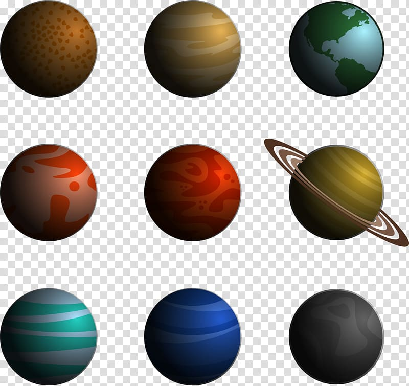 Planets illustration outer solar. Saturn clipart universe