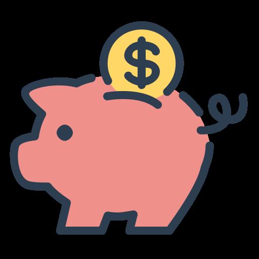 Coin savings resolutions save. Saving money png