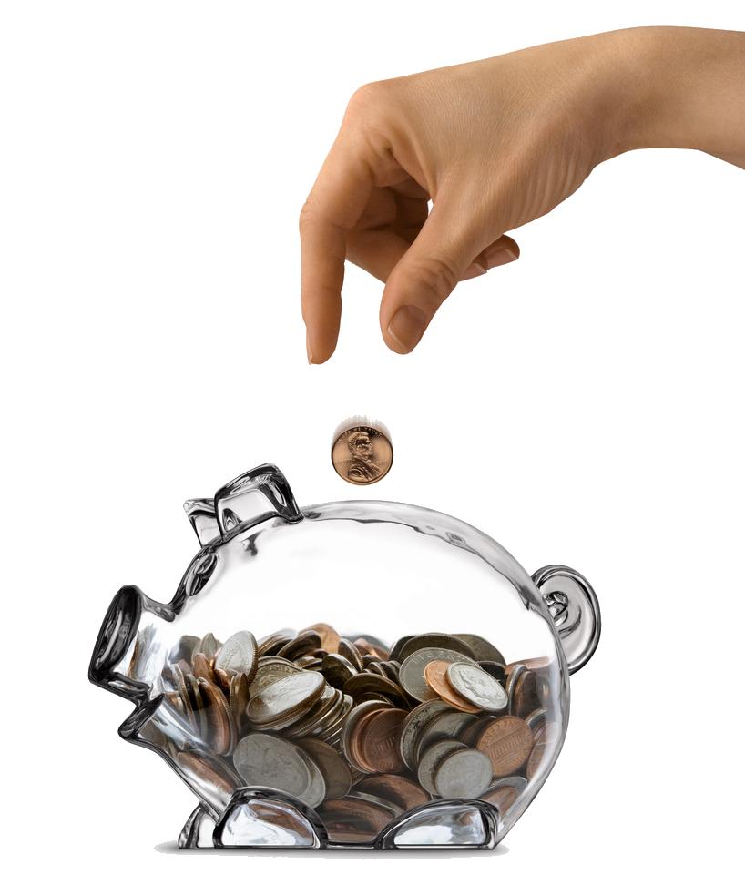 Saving money png. Funding bank mortgage loan