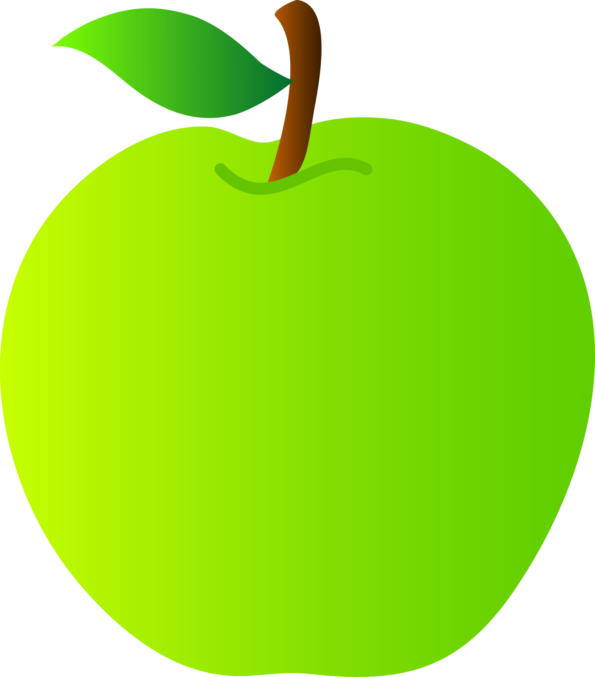 Image green png raptorlord. Scale clipart apple