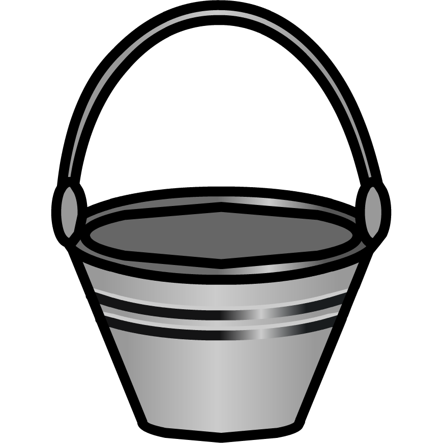 Scale clipart bucket. Image feeding png club