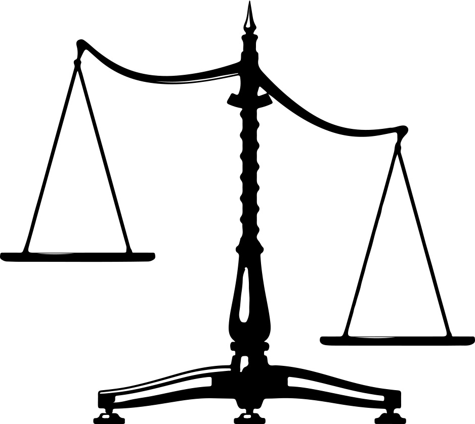 Law scales clip art. Scale clipart imbalanced