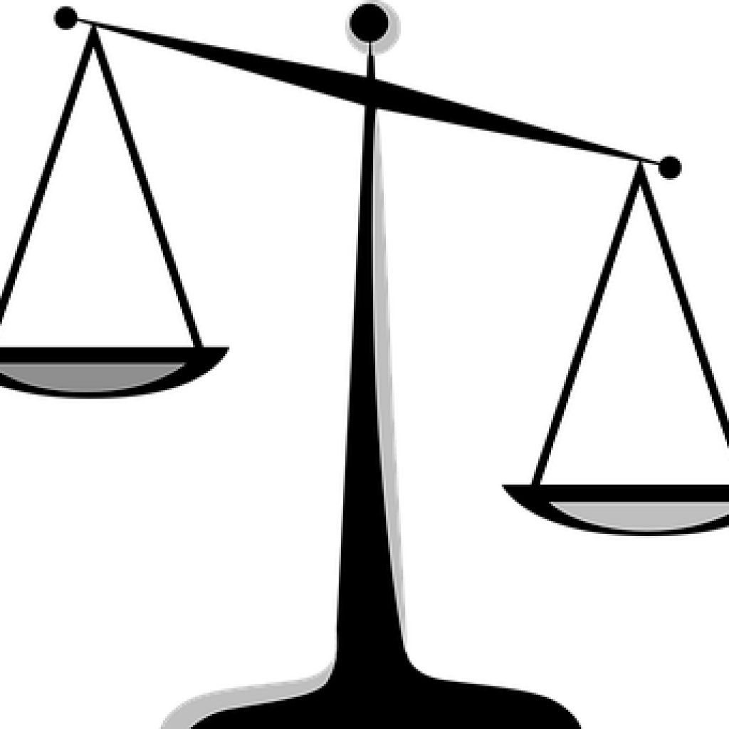 Scale clipart imbalanced. Scales of justice images