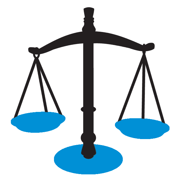 Defense attorney collection trusted. Scale clipart lawyer