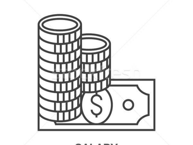 Salary x free clip. Scale clipart low wage