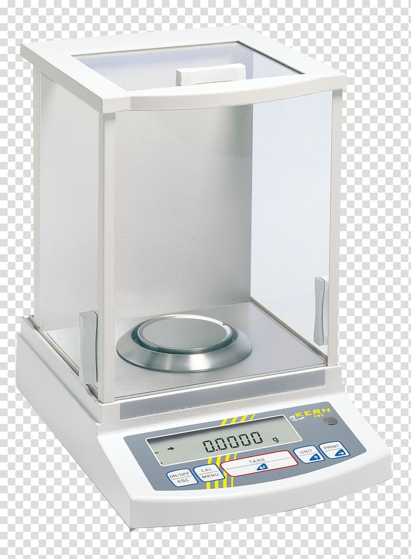 Analytical balance measuring scales. Scale clipart science