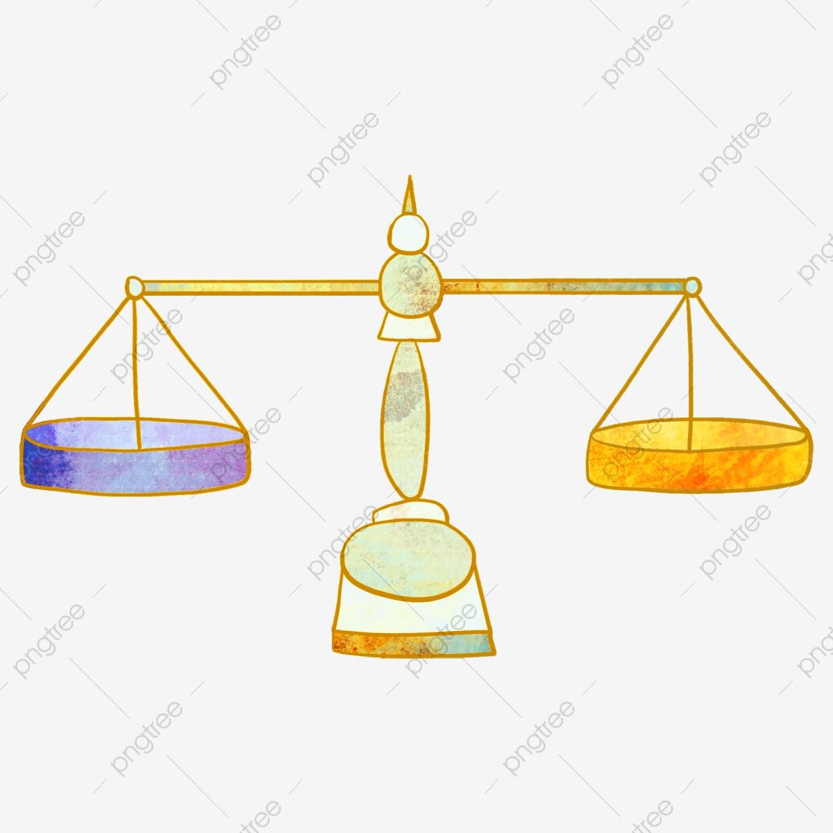 Balance tool fair justice. Scale clipart simple