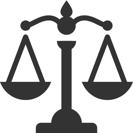 Weighing justice icon scales. Scale clipart transparent