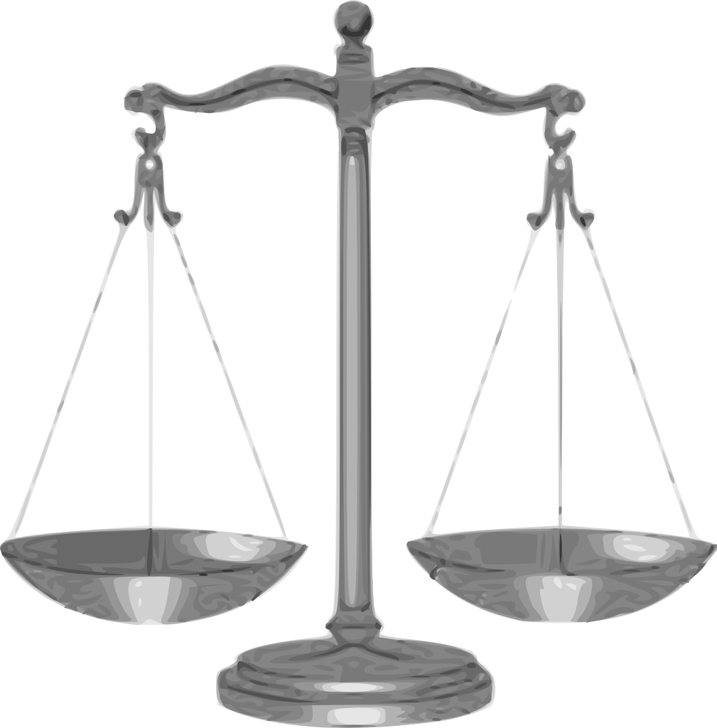 Scale clipart unbiased. Man arrested over burglary