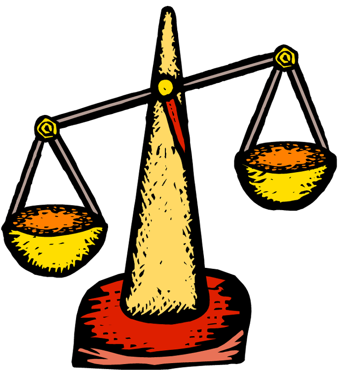 Yelling clipart rudeness. Balance scale cliparts zone