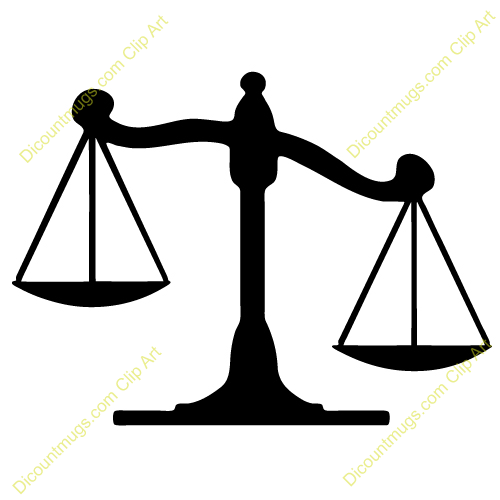 With this clip art. Scales clipart