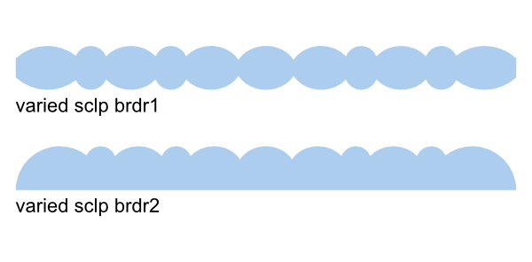 More svg files images. Scalloped border png