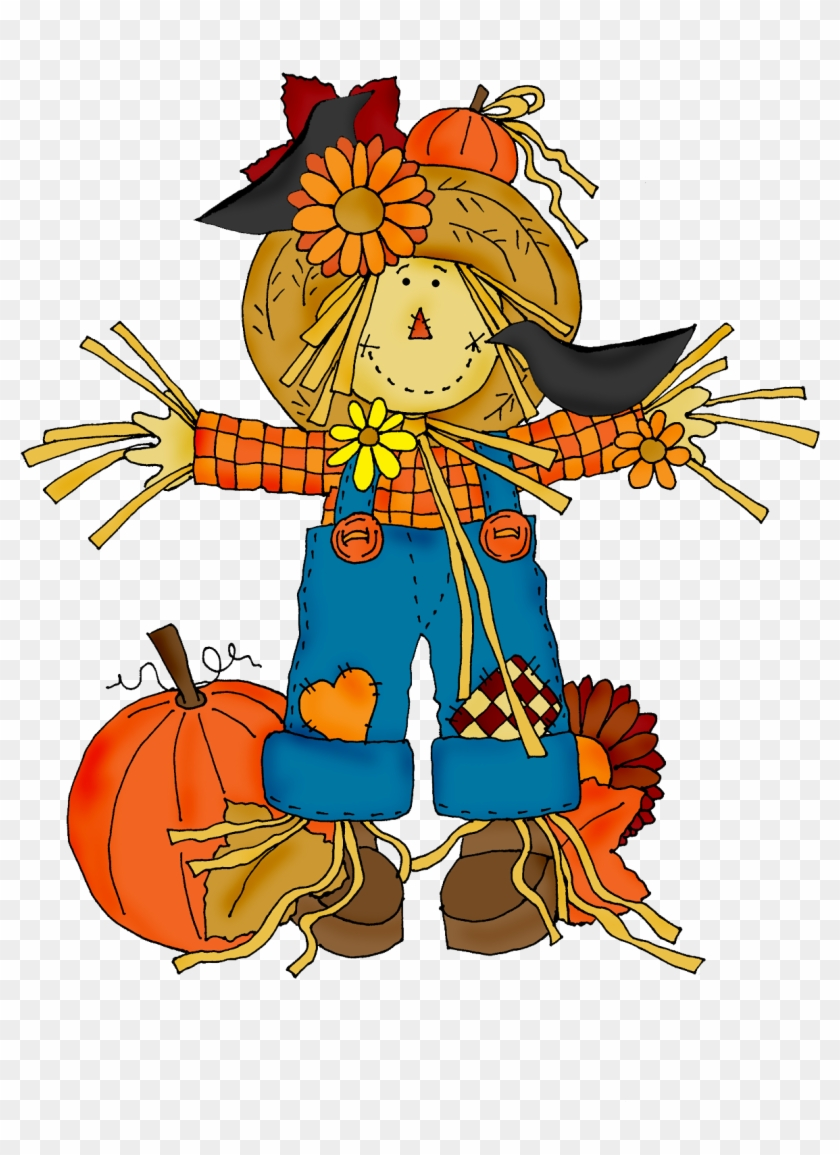 Scarecrow clipart. Harvest fall hd png
