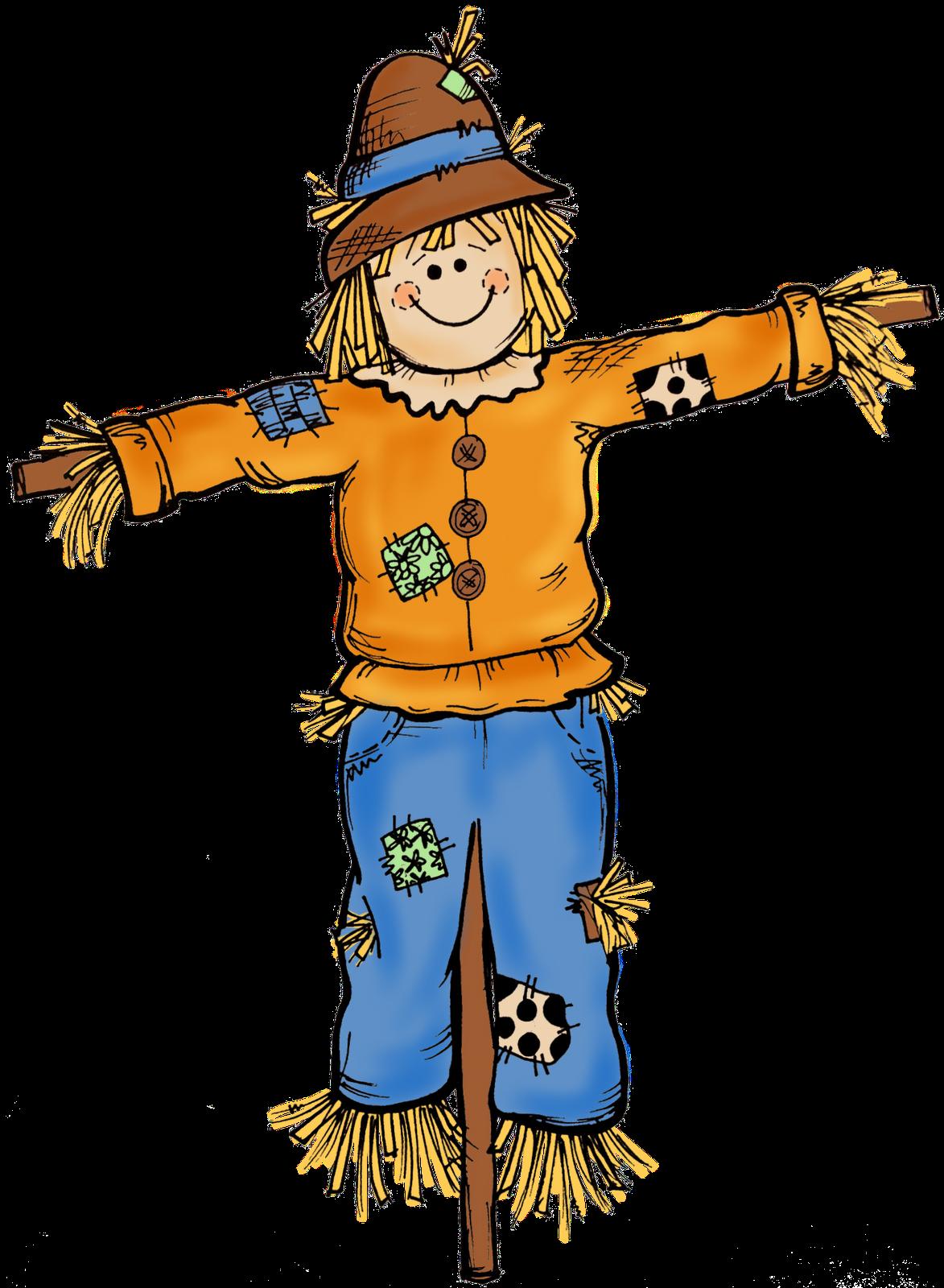 Scarecrow . Kids clipart autumn