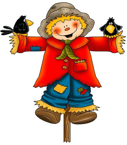 scarecrow clipart animated