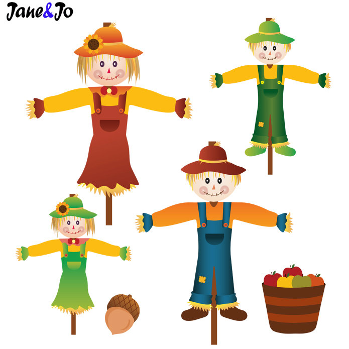 Fall free download best. Scarecrow clipart autumn