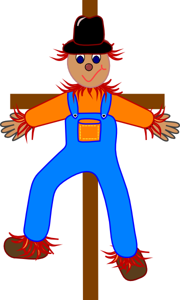 X free clip art. Scarecrow clipart carnival