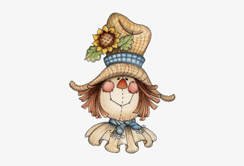 Scarecrow clipart country. Face party
