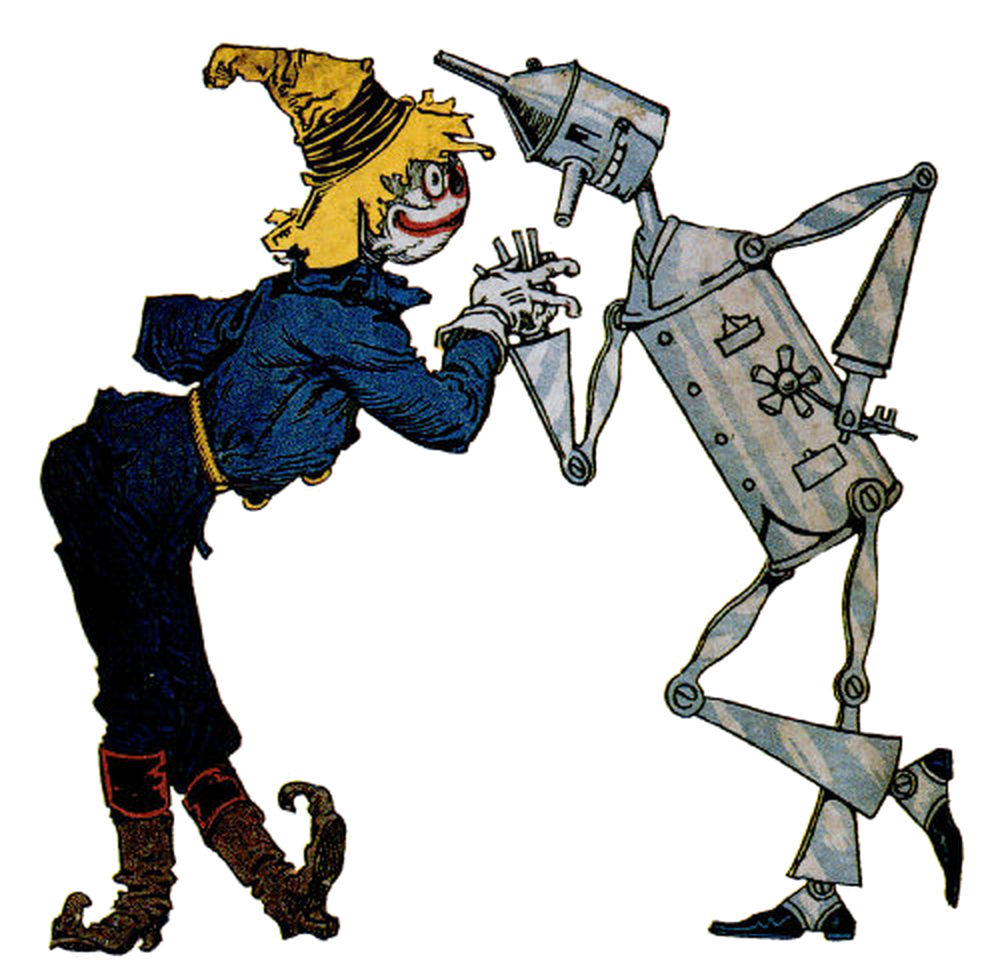 Tin woodman and the. Scarecrow clipart dorothy