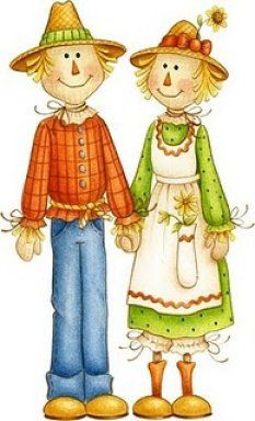 Download all things on. Scarecrow clipart family