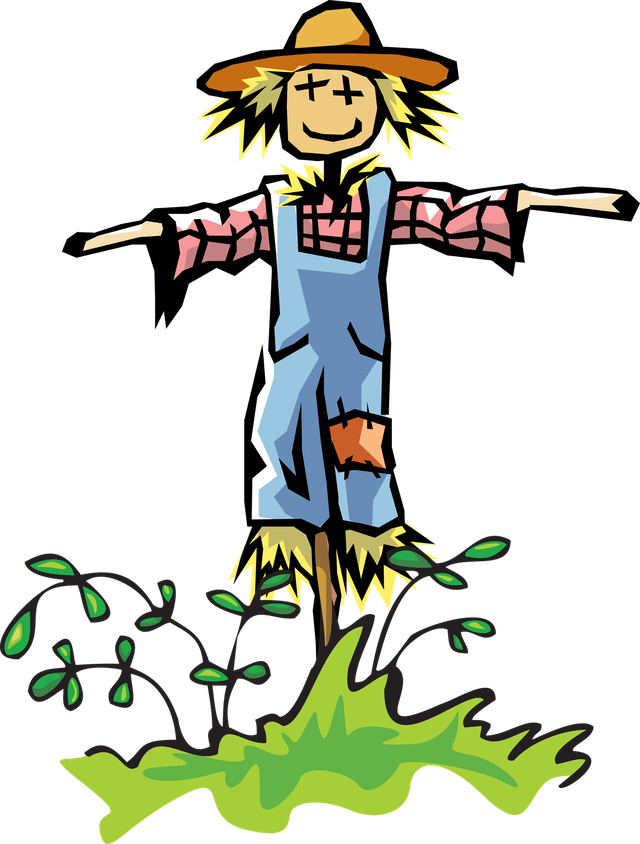 Scarecrow clipart field clipart. Free download best on
