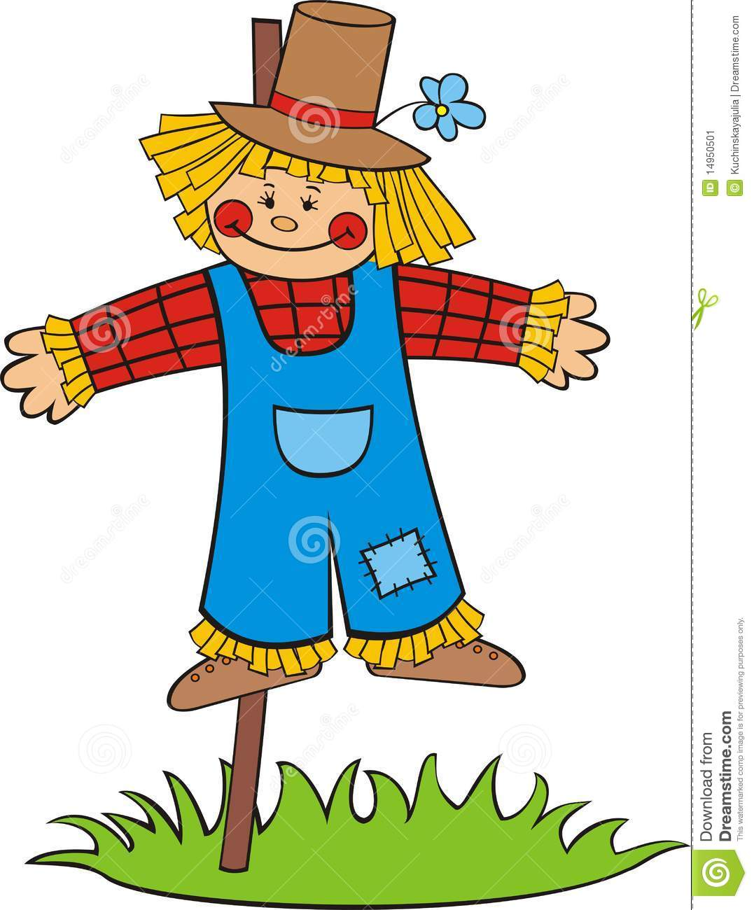 Images of scarecrows free. Scarecrow clipart fun
