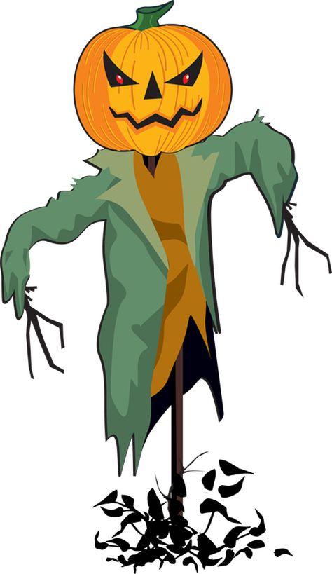 Clip art graphics free. Scarecrow clipart halloween