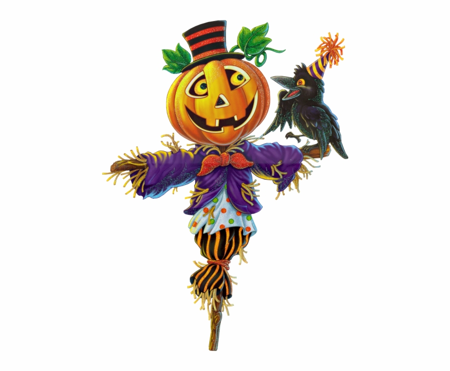 Scarecrow clipart halloween. Download free png images