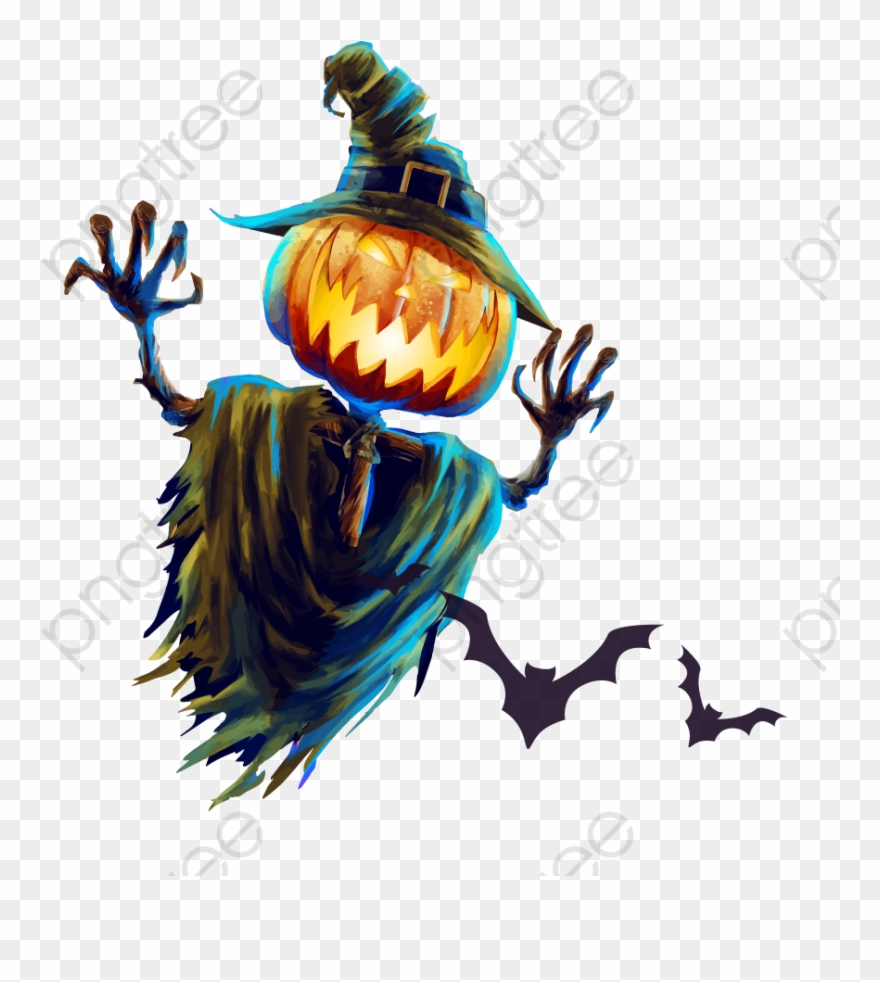 Png . Scarecrow clipart halloween