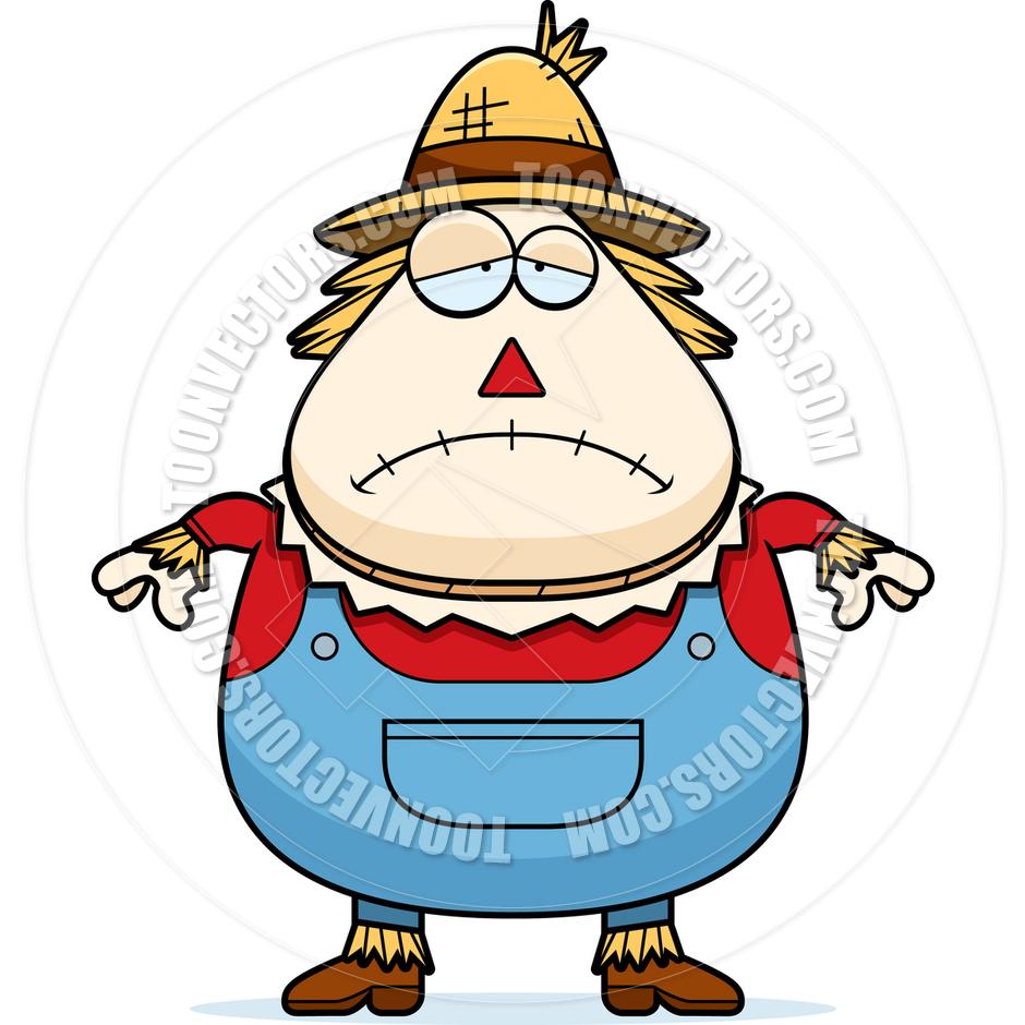 Scarecrow clipart sad. Free download best