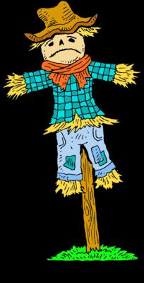Image christart com . Scarecrow clipart sad