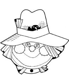 Free cliparts download clip. Scarecrow clipart scarecrow hat
