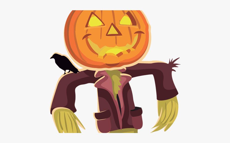 Face clip art cliparts. Scarecrow clipart scary