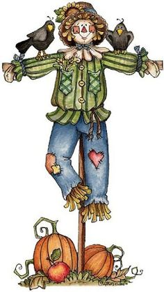 best scarecrows images. Scarecrow clipart scary