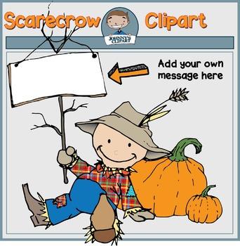. Scarecrow clipart teacher