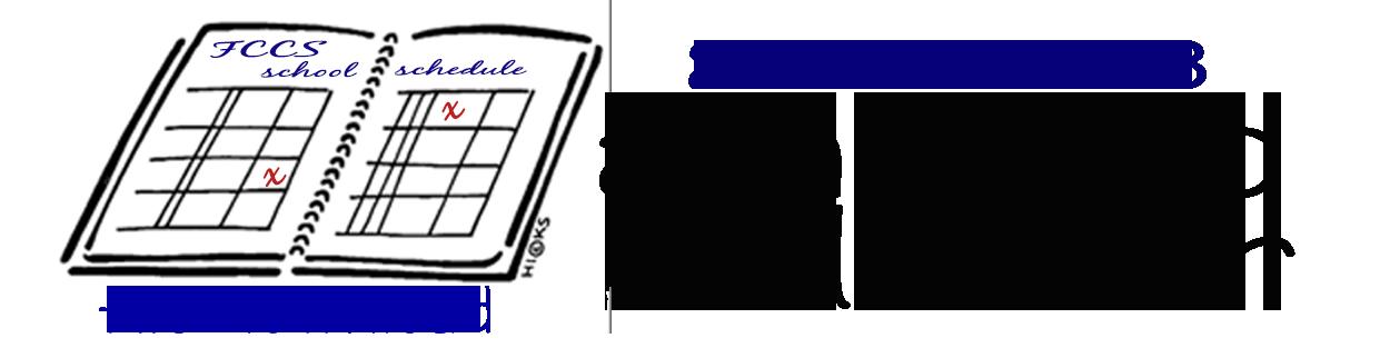 Faith community christian school. Schedule clipart academic calendar