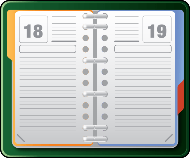 Schedule clipart appointment book. Cliparts zone