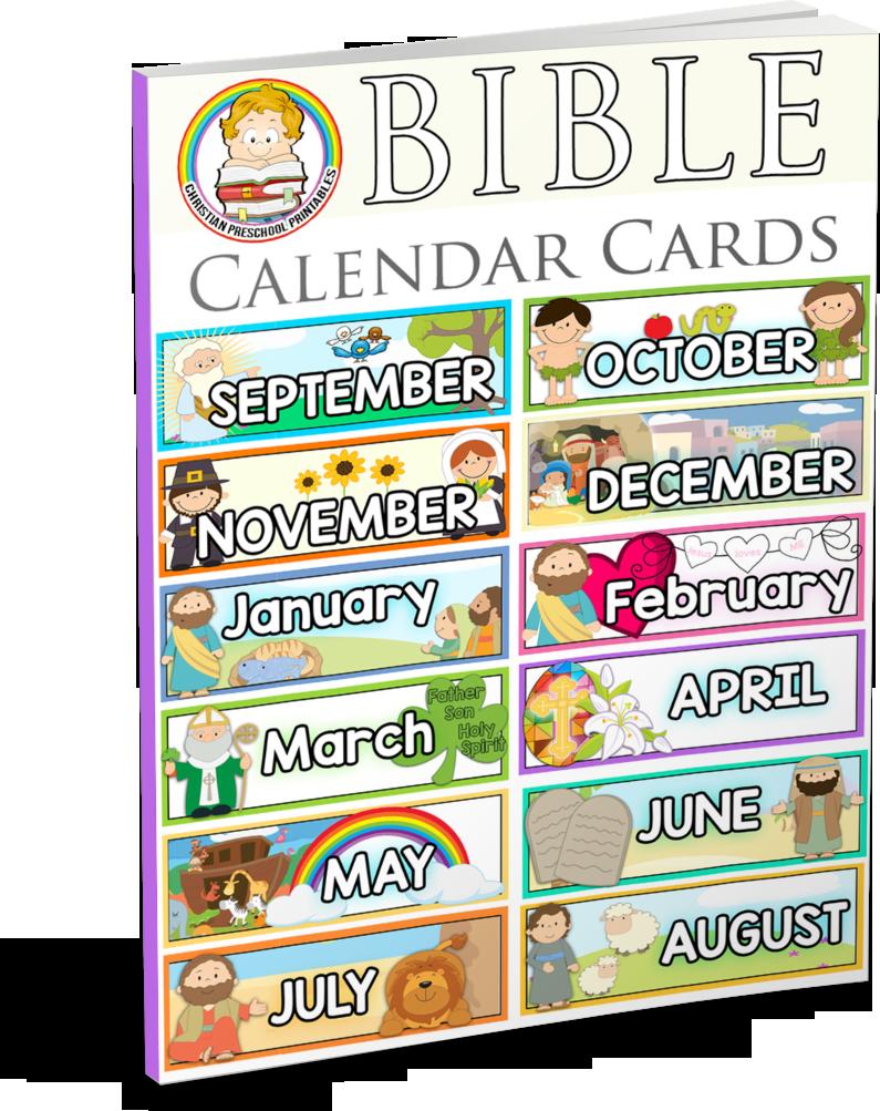 Bible calendar printables christian. Schedule clipart card